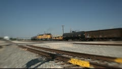 Freight Trrain Stock Footage