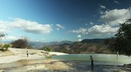 Stock Video Footage of hierve el agua oaxaca mexico