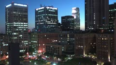 LA Skyline realtime Stock Footage