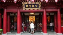 New Buddha Tooth Relic Temple and Museum, Singapore - stock footage