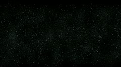 The Milky Way galaxy stars sky,dust snow,particle fireworks pollution dust. Stock Footage