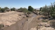 Stock Video Footage of Chile Atacama stream at Toconao