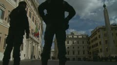 Silvio Berlusconi resigns Stock Footage