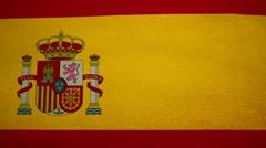 Flag Spain 04 Stock Footage