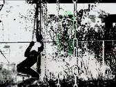 Stock Video Footage of VJ50 vj loop of a woman swinging in black&white
