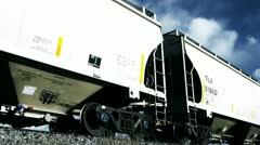Usa cargo train america Stock Footage