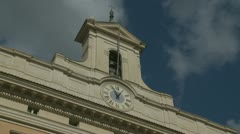 Time & clouds Stock Footage