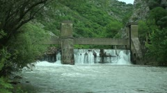 Old 20th century Dam _13 Stock Footage