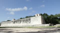 Chichen Itza balla game - pelota - stock footage