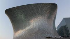 soumaya museum mexico city - stock footage