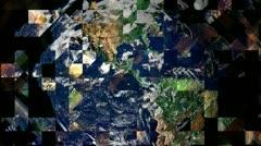 Mother Earth. Splinters. Stock Footage