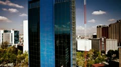 mexico DF skyline finance - stock footage