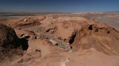 Atacama Cordillera de Sal Stock Footage
