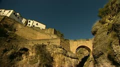 Ronda in spain Stock Footage