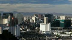 Las Vegas, Hotels and Casinos, Nevada, USA Stock Footage