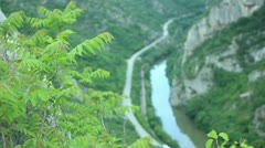 Sićevo Canyon Stock Footage
