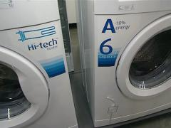 Washing machines sold Stock Footage