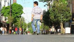 Street view in Istanbul Stock Footage