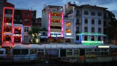 Karakoy Port, Istanbul, Turkey Stock Footage