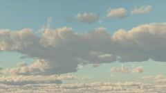 Clouds Retreat Stock Footage