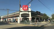 Chile A grocery store Stock Footage