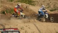 Motocross Extreme Sports Racing Dirt Bikes on the Track 12 Stock Footage
