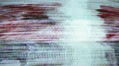 Tv static electronic noise Stock Footage