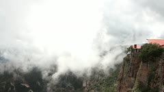 Copper canyon divisadero sierra madre mexico Stock Footage