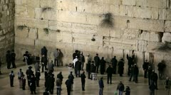 Jewish Quarter of the Western Wall Plaza, Israel, Stock Footage