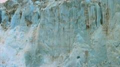 Calving glacier 2 Stock Footage
