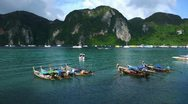 Stock Video Footage of PhiPhi Boat 006