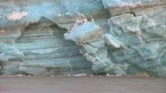 Calving glacier 4 Stock Footage