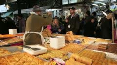 Tel Aviv, Shuk HaCarmel market, Israel,  Stock Footage