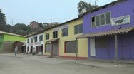 Stock Video Footage of Chile Bucalemu buildings s