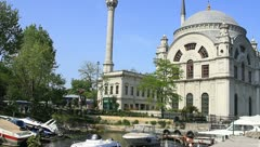 Dolmabahce Mosque Stock Footage
