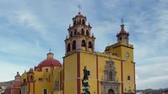 guanajuato church mexico - stock footage