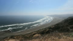 Chile coast near Matanzas c2 Stock Footage
