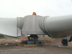 Tuulimylly osa komponentti Arkistovideo