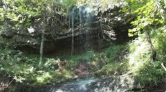 Clydach Waterfall - stock footage
