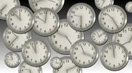 Time Flies - Clock 32 (HD) Stock Footage