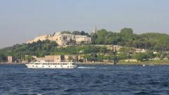 Topkapi Palace, Istanbul Stock Footage