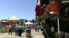 County fair Stock Footage