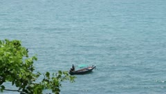 Boats in Thailand Stock Footage