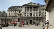 Stock Video Footage of Bank of England London England