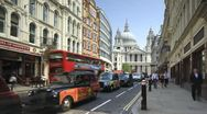St Pauls London England Stock Footage