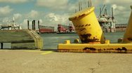 Stock Video Footage of Oil platform dolly movement