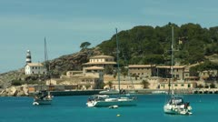 Port de Soller, Mallorca (Majorca), Spain Stock Footage