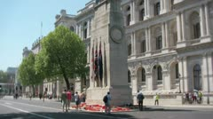 cenotaph monument - stock footage