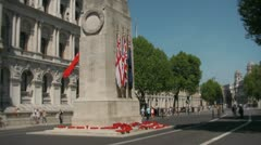 cenotaph monument london - stock footage
