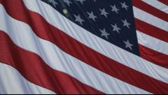 932 American Flag full frame six Stock Footage